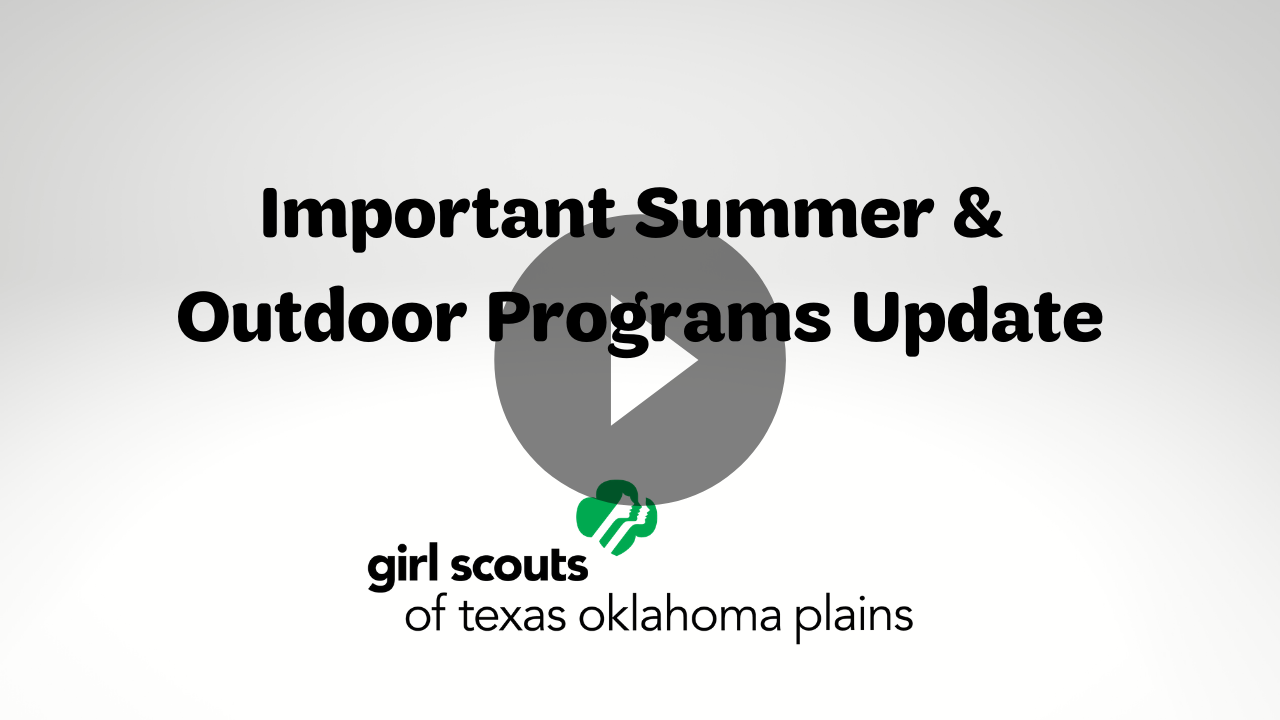 Video: Important Summer and Outdoor Programs Update